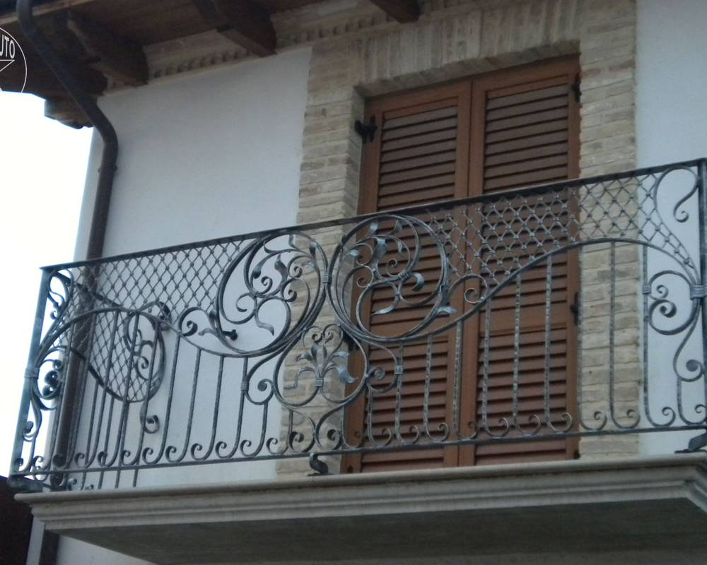 Exterior Balustrades 187 Hand Crafted Creations Wrought Iron