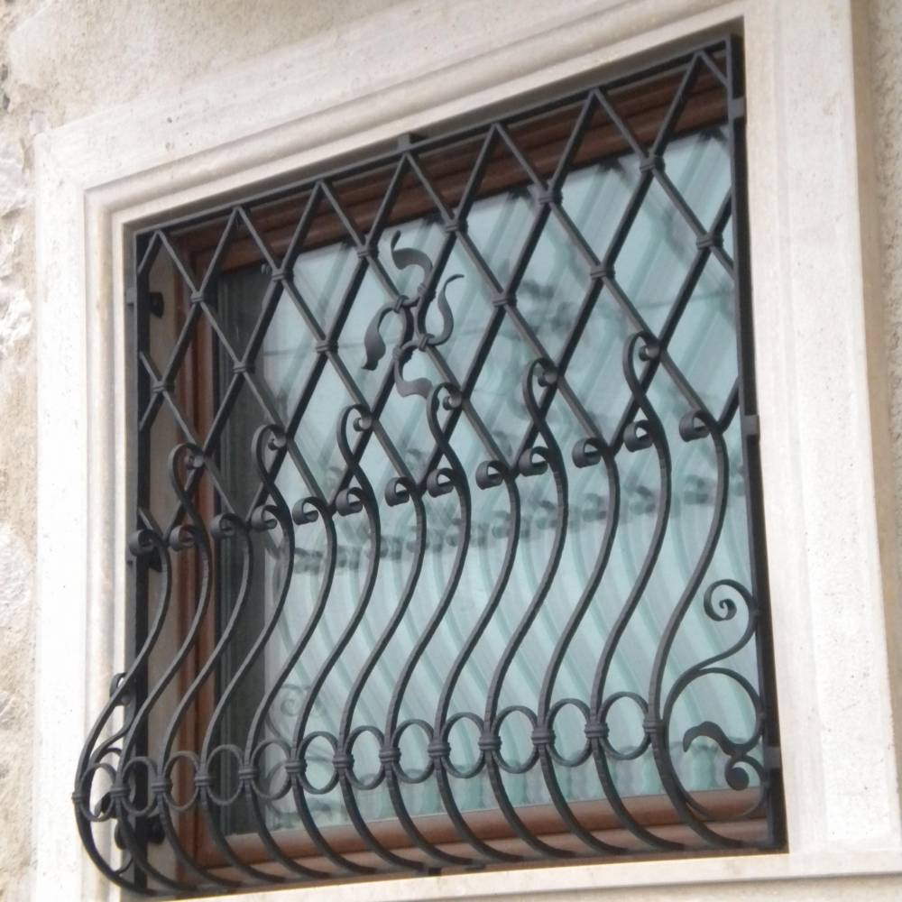 Wrought Iron Grilles And Protections, Gates, Grille For