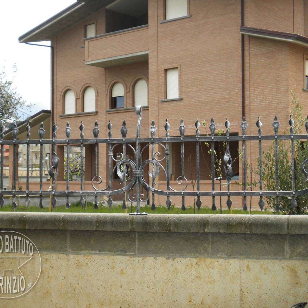 Iron fence for villa