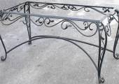 Small table in wrought iron