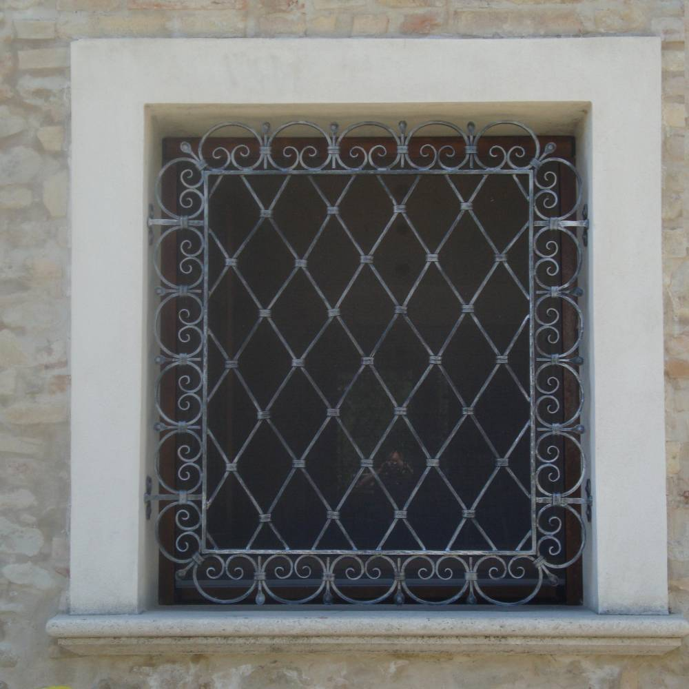 Wrought Iron Protection for window