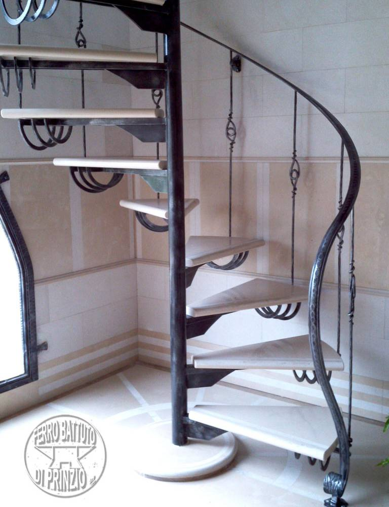Wrought iron inner scale