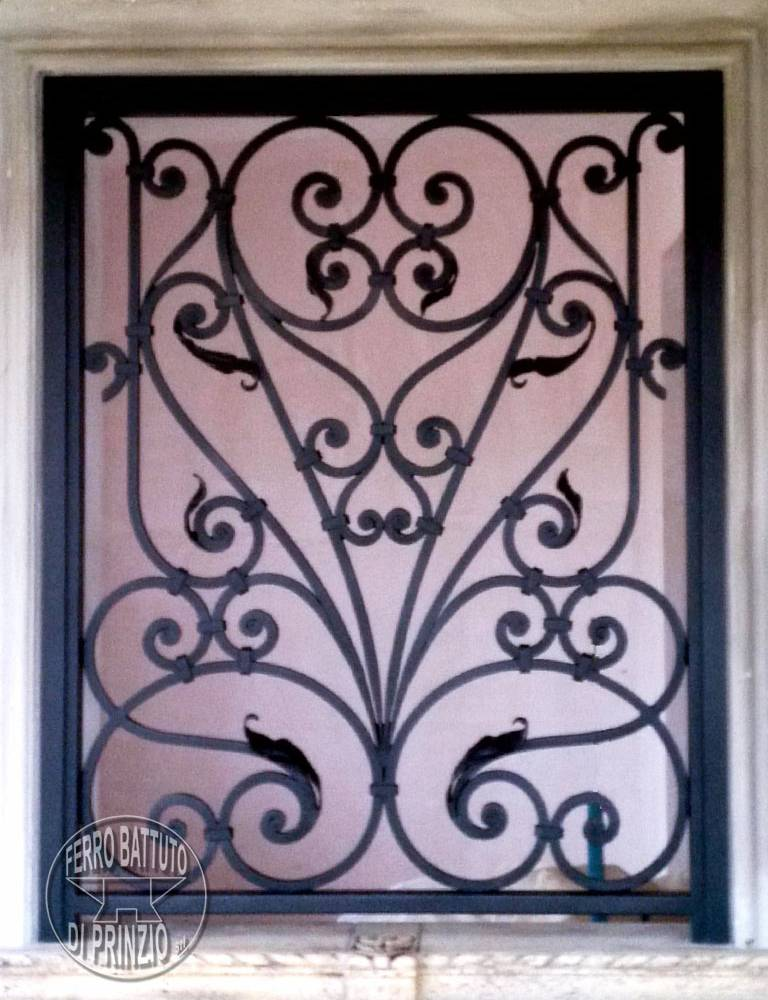 Wrought iron protection