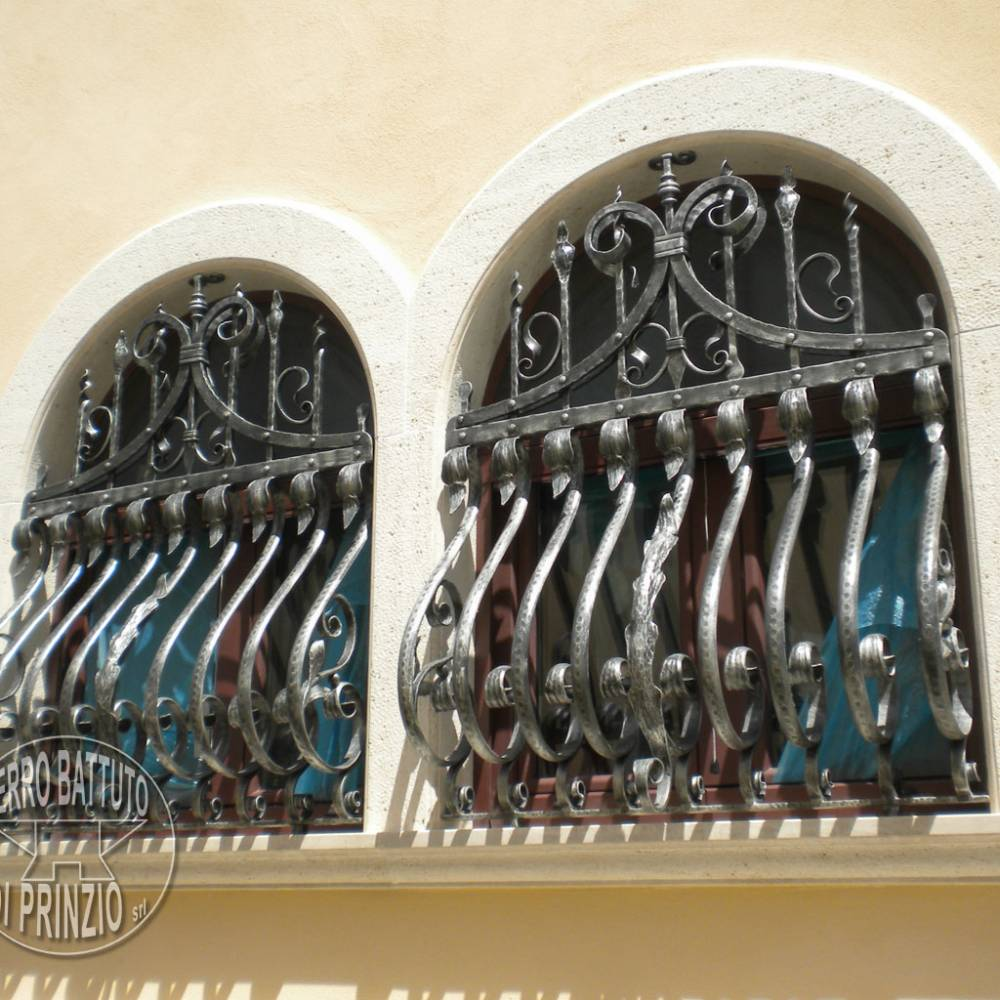 Wrought iron protections