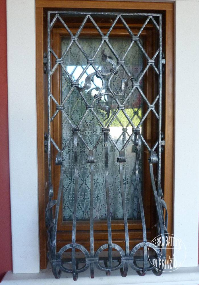 Wrought iron fixed protection