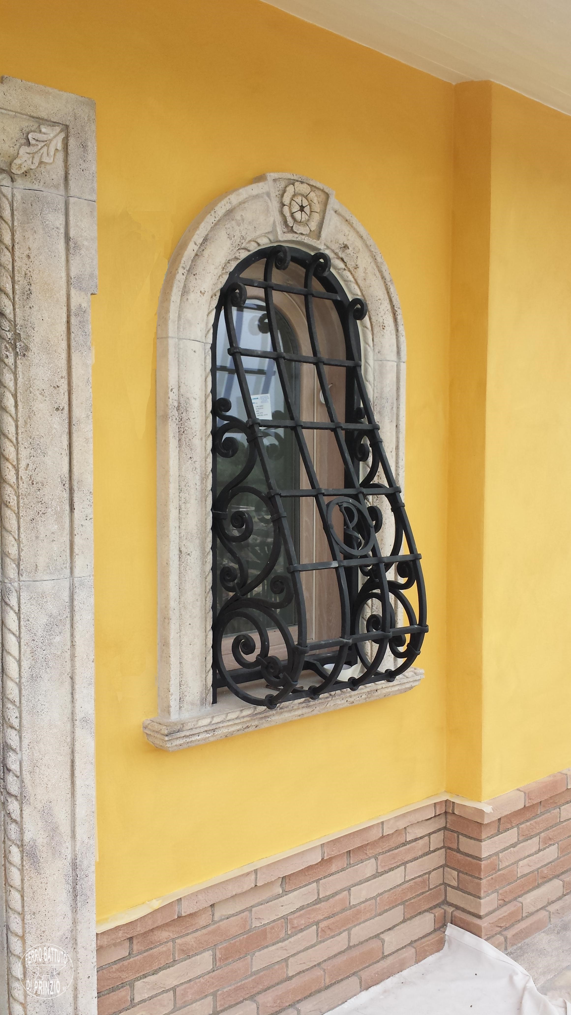 Wrought iron grilles and protections, gates, grille for window, fencing