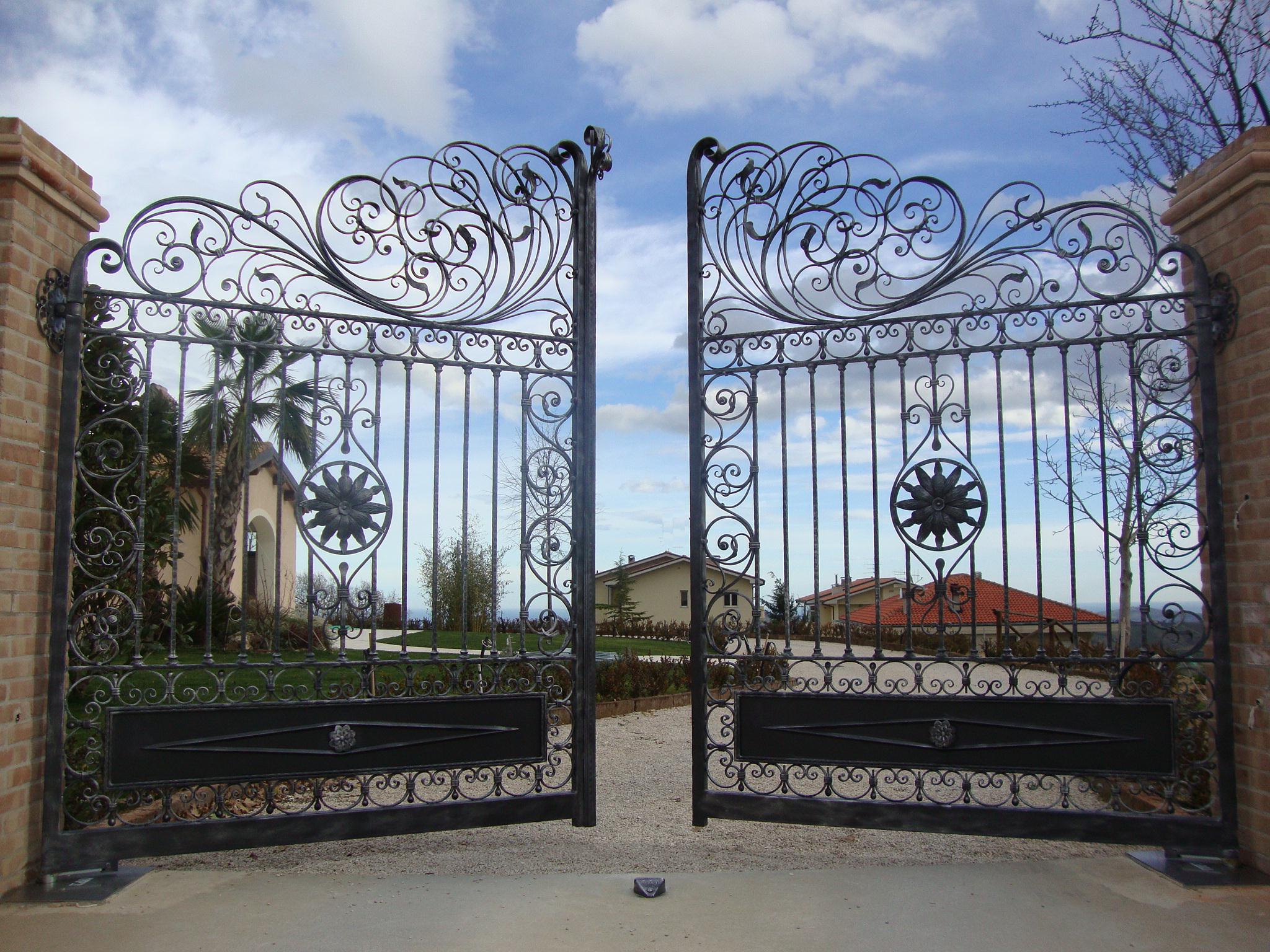 Wrought Iron Gate Design Catalogue
