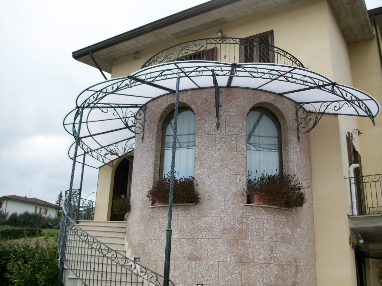 Canopies Wrought Iron Canopies Canopies For Terraces