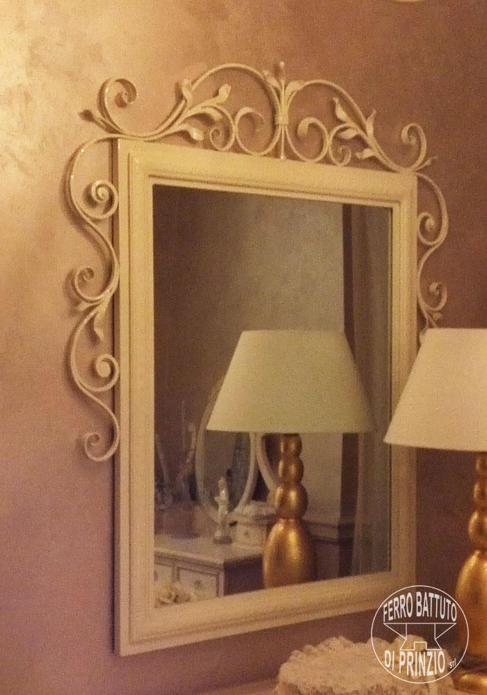 Interior furnishings: Furnishings in wrought iron, small ...